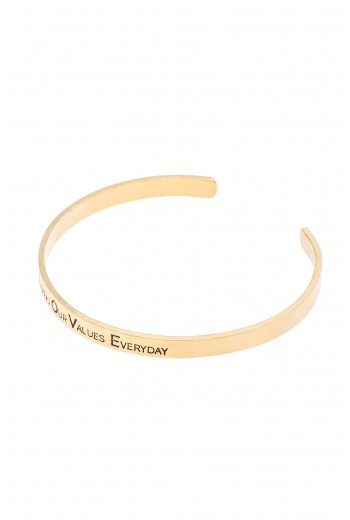 Living our values everyday bracelet