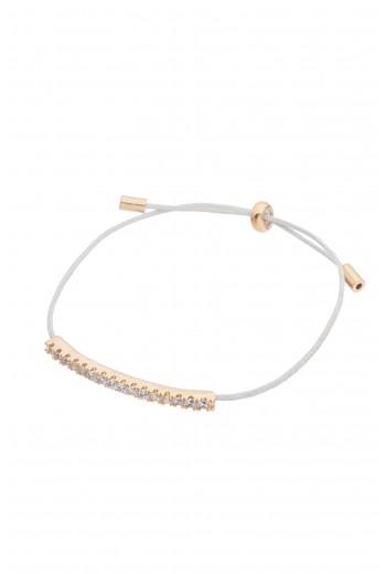 White thread bracelet