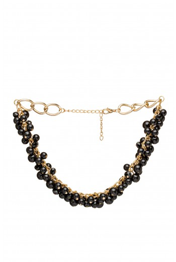 Ball beaded necklace